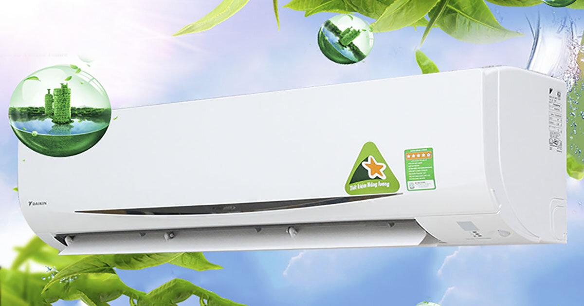 TOP điều hoà Daikin inverter siêu tiết kiệm điện cho gia đình