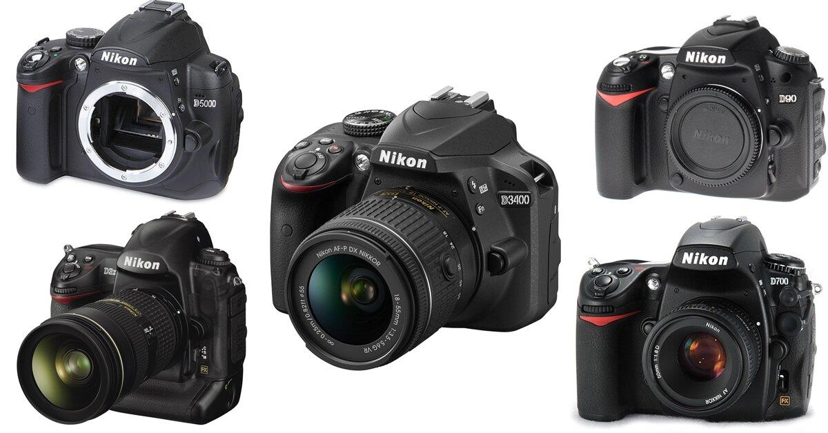 TOP máy ảnh Nikon cũ đáng mua trong năm 2018