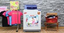 Top máy giặt 8kg Sanyo tốt, giá rẻ nhất chỉ từ 4 triệu đồng