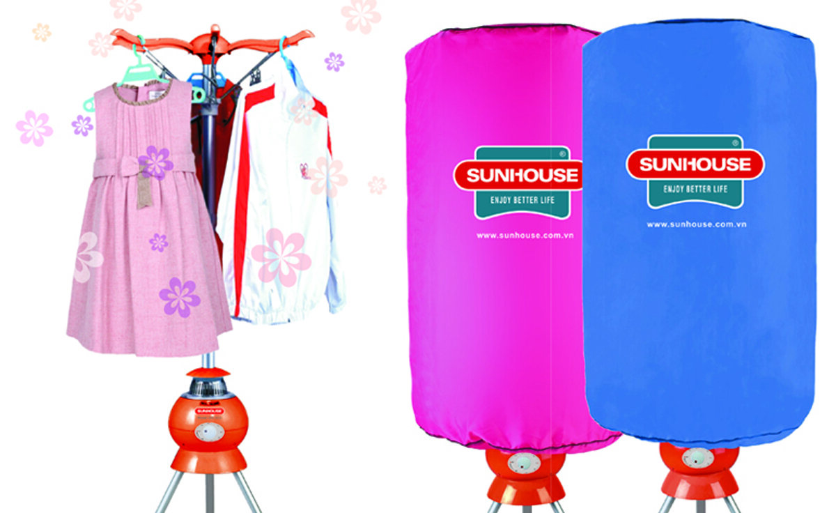 Top máy sấy quần áo Sunhouse GIÁ RẺ VÀI TRĂM NGHÌN ĐỒNG cho ngày mưa ẩm ướt