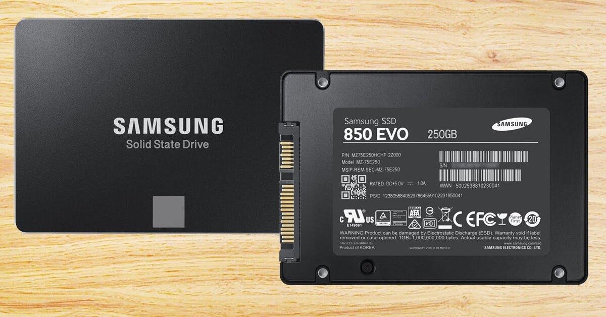 TOP ổ cứng SSD đáng mua nhất tháng 7/2018