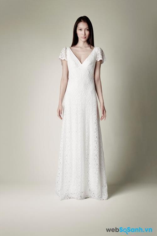 Mẹo chọn váy cưới cho cô dâu dáng quả táo Tp9m804s9gxpb