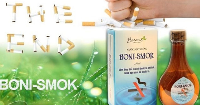 Ưu nhược điểm của nước súc miệng boni-smok