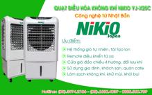 Quạt điều hòa không khí Nikio Nhật Bản – Giải pháp cho những ngày nóng