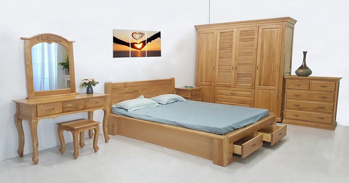 Trải nghiệm mua sắm nội thất phòng ngủ gỗ cao cấp tại hệ thống Phúc An