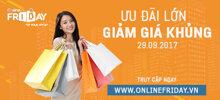 Trải nghiệm mua sắm trực tuyến với nhiều khuyến mãi lớn cùng Online Friday tháng 9 tại Trung tâm thương mại Vincom