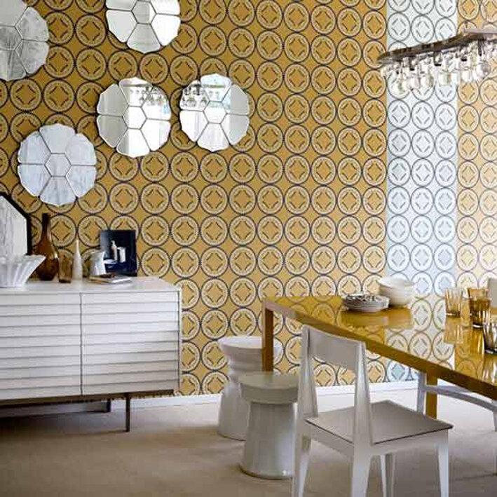 Trang trí nhà bằng giấy dán tường