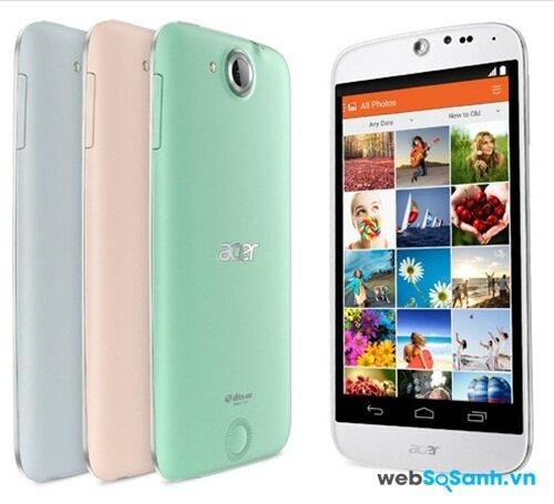 Trên tay chiếc điện thoại thông minh Liquid Jade Z của Acer
