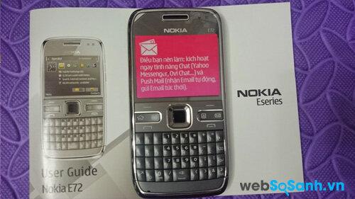 Trên tay huyền thoại Nokia E72 phiên bản Haiti