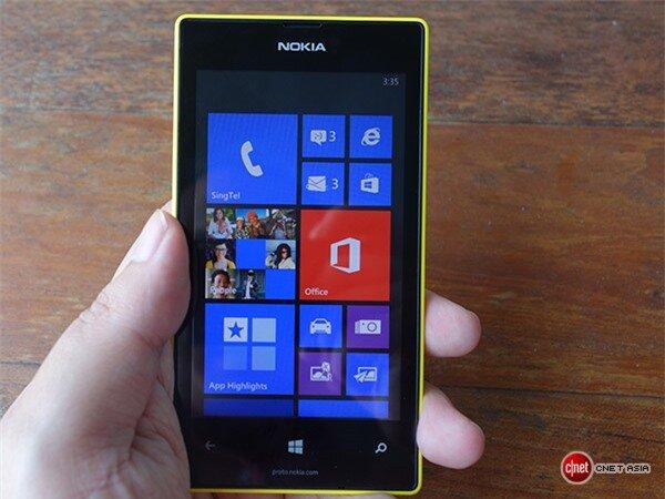 Trên tay Nokia Lumia 525 (Cnet)