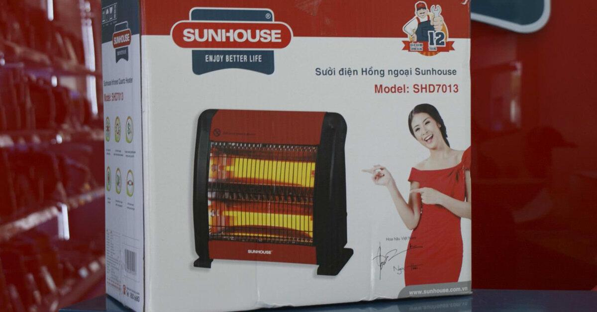 Trong 3 loại quạt sưởi Saiko, Sunhouse, Tiross nên mua loại nào ?