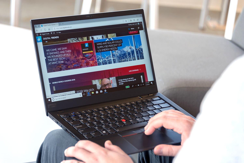 Thời lượng pin 9 tiếng cho phép Lenovo Thinkpad xử lý nhiều tác vụ trong thời gian dài