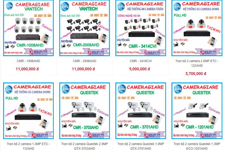 thương hiệu camera quan sát giá rẻ tại vienthonggiare.com