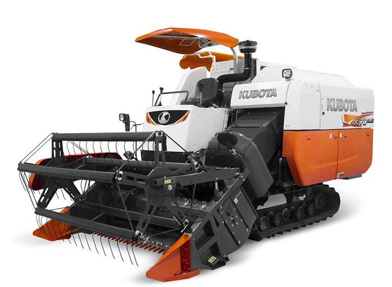 máy gặt đập liên hợp kubota