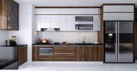 Tủ bếp Acrylic là gì? Lý do nhận được sự ưa chuộng của các khách hàng