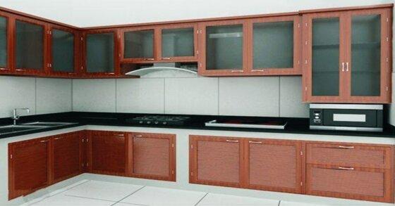 Tủ bếp bằng nhôm có tốt? Nên chọn tủ nhôm hay tủ bếp gỗ?