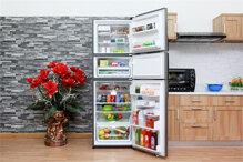 Tủ lạnh Electrolux EME3500SA hiện đại với thiết kế 3 cửa độc đáo