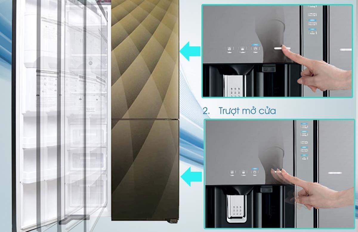 Tủ lạnh Hitachi chạm là mở là dòng tủ lạnh gì? Có gì đặc biệt?