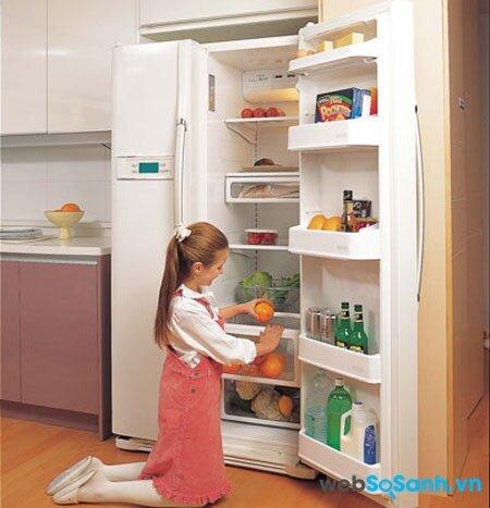 Tủ lạnh Hitachi R-S700PGV2 bảo quản thực phẩm tươi ngon với cơ chế làm lạnh kép