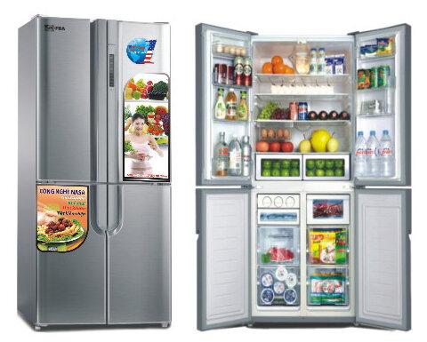 Tủ lạnh kiểu Pháp và tủ lạnh Side-by-side: Nên chọn tủ nào?