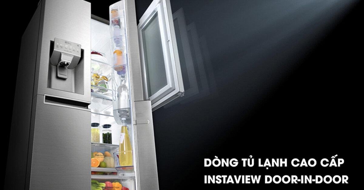 Tủ lạnh làm đá tự động là gì ? Có nên mua tủ lạnh LG làm đá tự động giá rẻ không ?