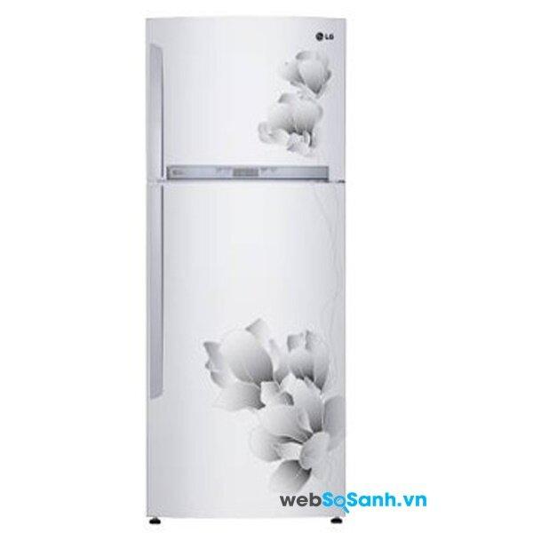 Tủ lạnh LG GR-C572MG sở hữu công nghệ làm lạnh từ cửa tủ