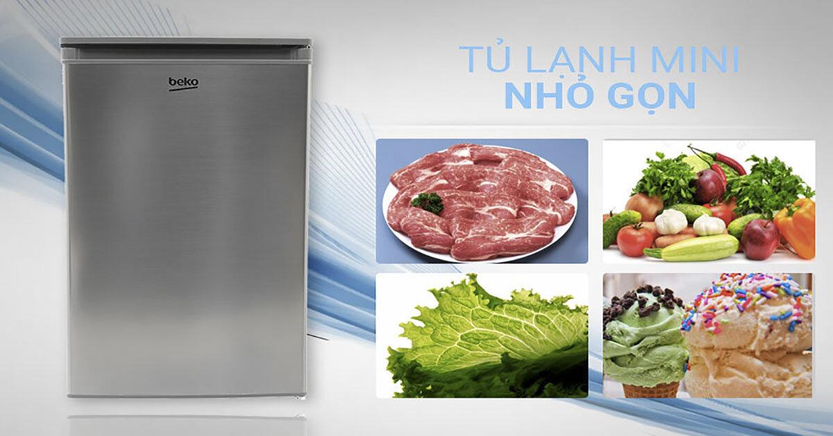 Tủ lạnh mini Beko giá rẻ cho chất lượng tốt không ?