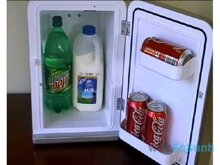 Tủ lạnh mini dùng cho ô tô giá rẻ nhất bao nhiêu tiền?