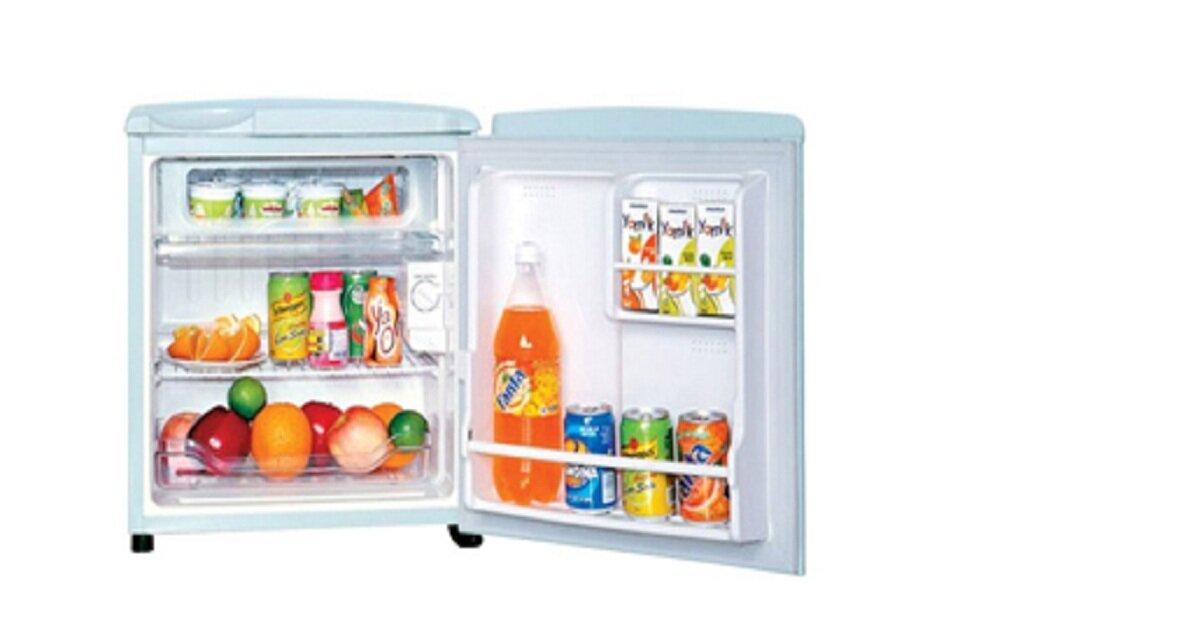 Tủ lạnh mini Sanyo giá rẻ nhất bao nhiêu tiền dịp Tết 2019?