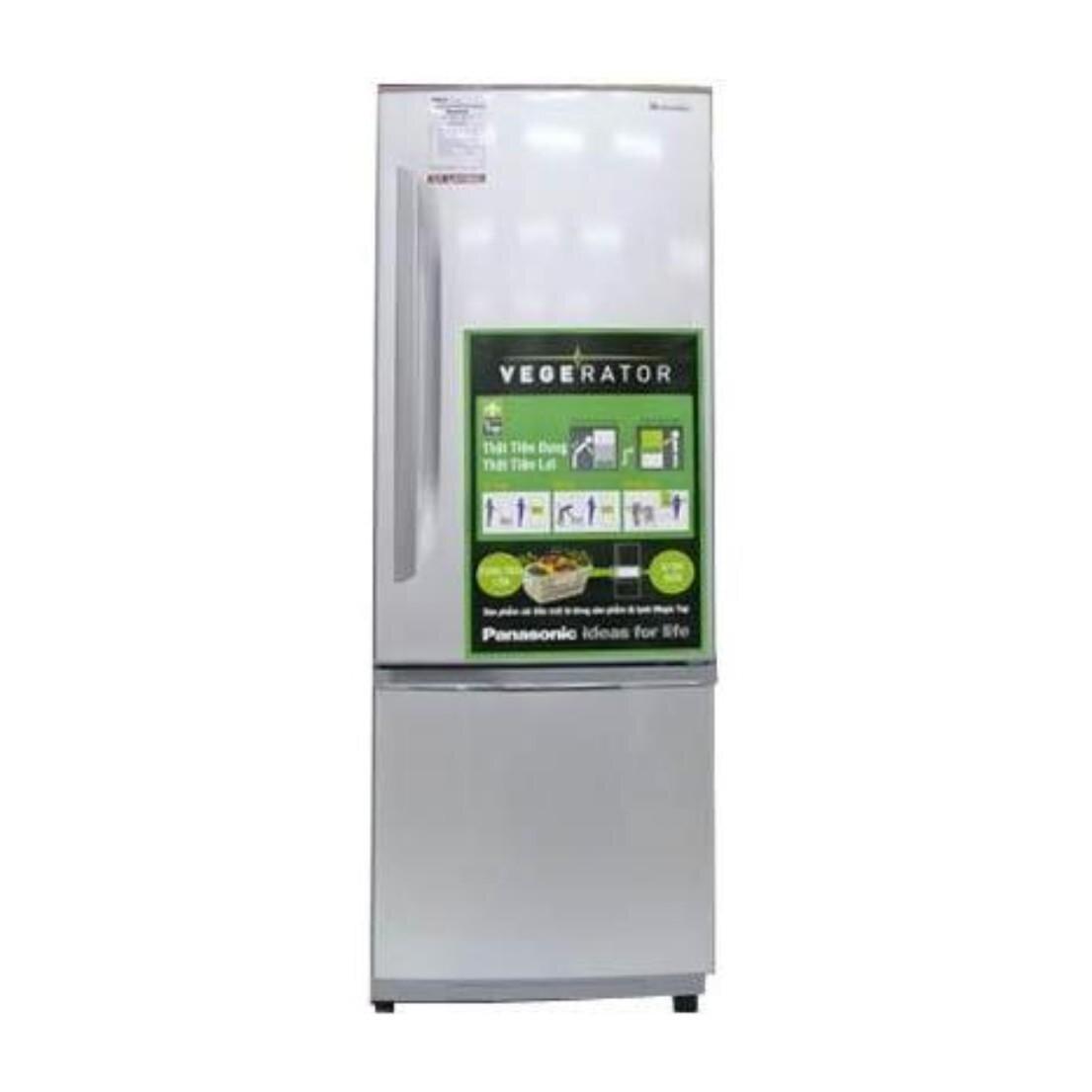Tủ lạnh Panasonic NR-BU302SS tiện dụng với ngăn đá dưới