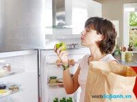 Tủ lạnh Panasonic NR-BW414 sở hữu ngăn đá dưới