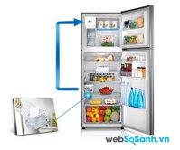 Tủ lạnh Samsung RT-38FEAKDSL bảo quản ngay cả khi cúp điện