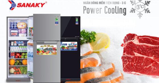Tủ lạnh Sanaky có tốt không ? Các model được yêu thích nhất ? Giá bao nhiêu ?