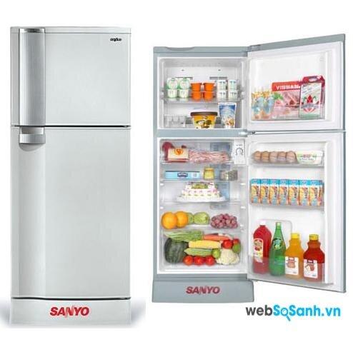 Tủ lạnh Sanyo SR-145PN cho gia đình nhỏ