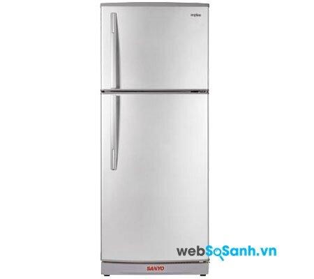 Tủ lạnh Sanyo SR-F42NT cung cấp vitamin C cho rau củ