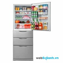 Tủ lạnh Sanyo SR361MMS  thiết kế độc đáo
