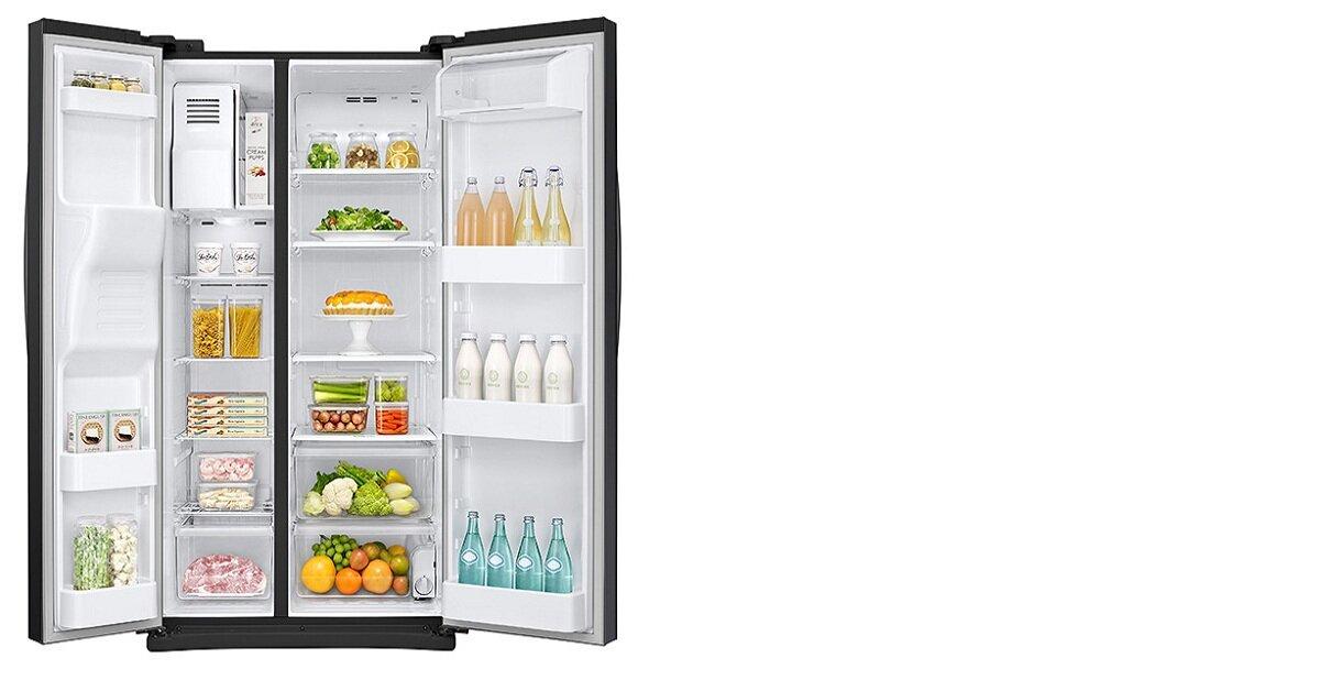Tủ lạnh side by side dung tích lớn Samsung giá rẻ nhất bao nhiêu dịp Tết 2019?