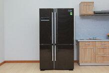 Tủ lạnh Side by Side nào tốt nhất giữa Mitsubishi, Sharp, LG, Samsung?