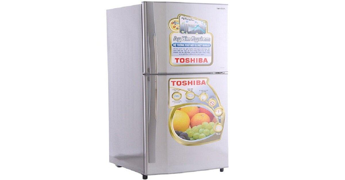 Tủ lạnh Toshiba giá rẻ nhất bao nhiêu tiền dịp Tết Nguyên đán 2019?