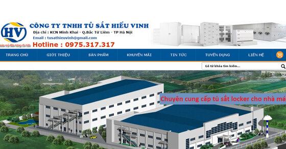 Tủ sắt Hiếu Vinh - Nhà sản xuất và cung cấp tủ sắt uy tín giá rẻ