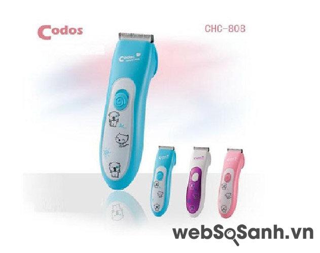 Tự  tay chăm sóc trẻ nhỏ với tông đơ cắt tóc Codos CHC-808