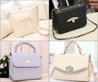 Túi messenger và túi xách thời trang – Phụ kiện không thể thiếu của các cô nàng