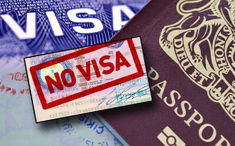 các nước miễn visa cho việt nam