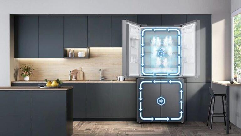 Review tủ lạnh Samsung inverter 488 lít RF48A4010M9/SV có tốt không?