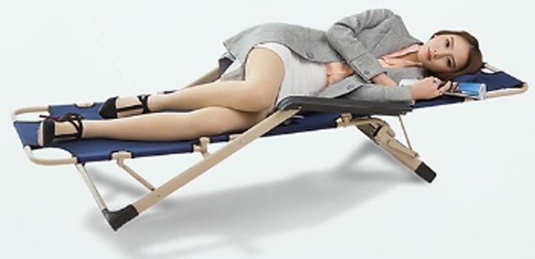 Ghế xếp, giường xếp thư giãn ngủ trưa văn phòng RE0264