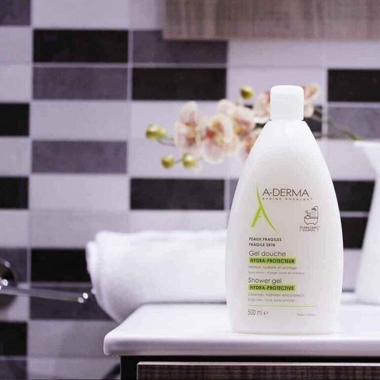 Sữa tắm Adermar trị mụn lưng có tốt không?