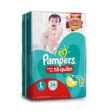 Bảng giá tã quần Pampers chính hãng trong tháng 1/2018