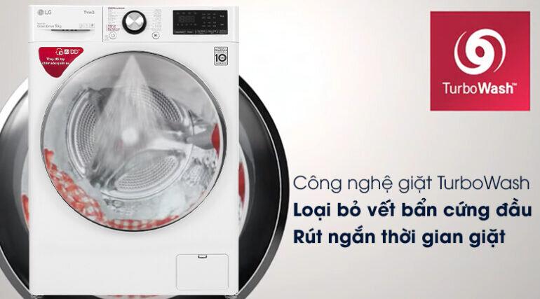 Máy giặt LG AI DD 9kg FV1409S2W màu trắng - Giá tham khảo khoảng 10 - 13 triệu vnđ/ chiếc