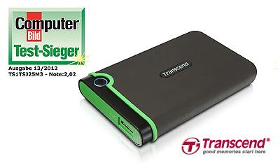 Transcend StoreJet 25M3 1 TB USB 3.0