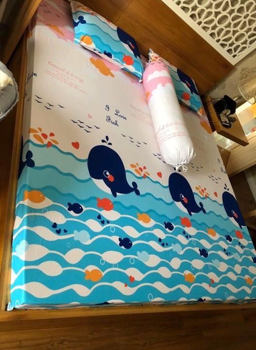 Ga chống thấm Goodmama hình ảnh dưới đại dương khiến bé thích thú